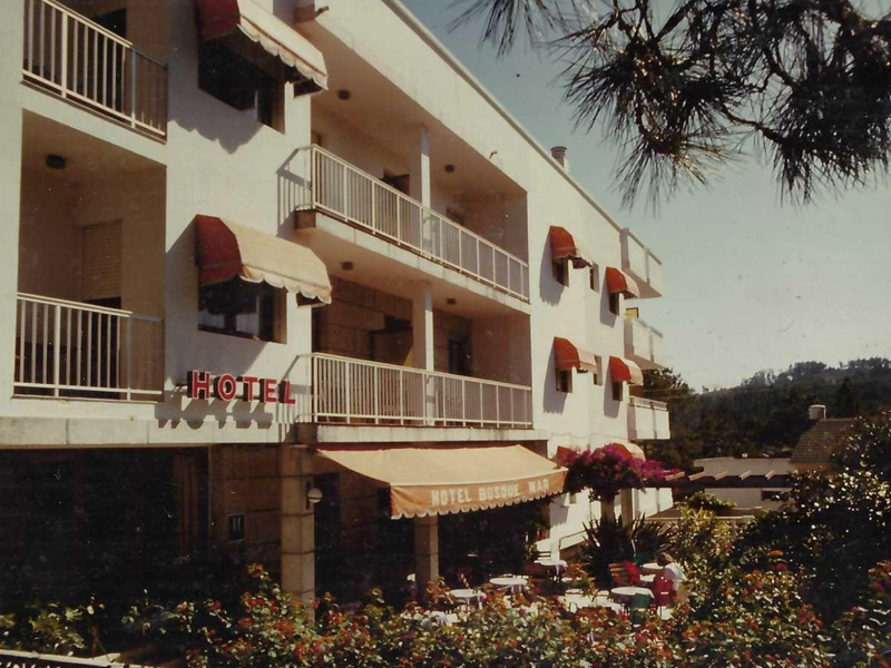 historia bosque mar hotel rias baixas 1